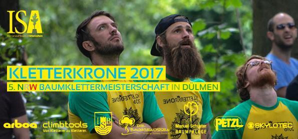 5. BAUMKLETTERMEISTERSCHAFT NRW DÜLMEN BULDERN 2017